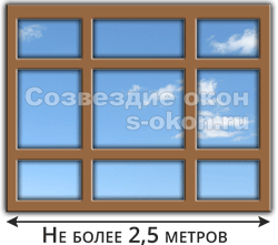 Ширина большого окна