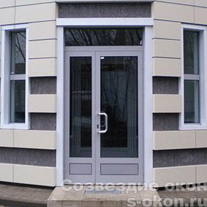 Бронированные стеклянные двери