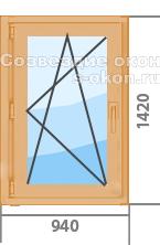Цены на ламинированные окна