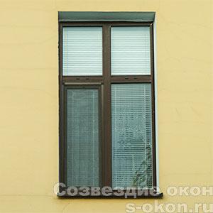 Цветные окна Rehau