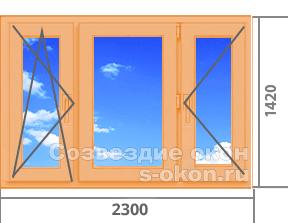 Цены на окна из дерева со стеклопакетом