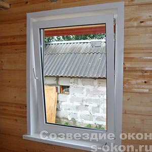 ПВХ окна для дачи