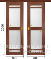 Двери-купе на заказ недорого