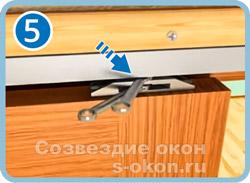 Монтаж двери-купе