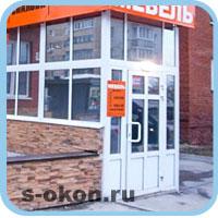 Дверные конструкции для магазинов