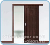 Раздвижная дверь из МДФ
