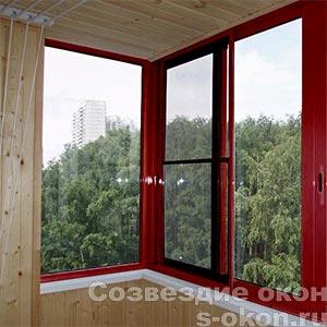 Фото красных окон