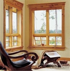 Лучшие деревянные окна