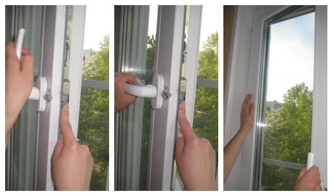 Заклинило окно