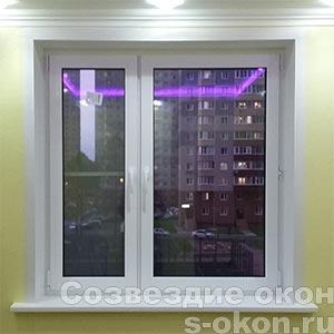 Пластиковые окна KBE или REHAU