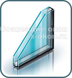 Окна с однокамерными стеклопакетами