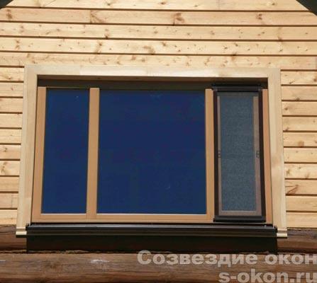 Окна в жилых домах