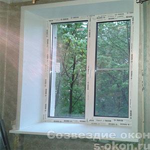 Пластиковые окна в г. Пушкино