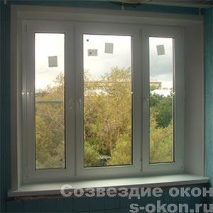 Пластиковые окна в однокомнатной квартире