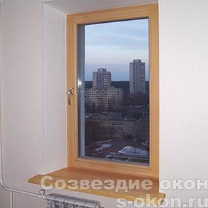 Деревянные окна из дуба от производителя