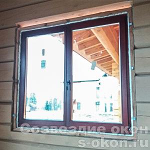 Окна из лиственницы от производителя