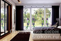 Окна с витражами придумали давно, и не удивительно, что они гармонично интегрировались в пластиковые окна