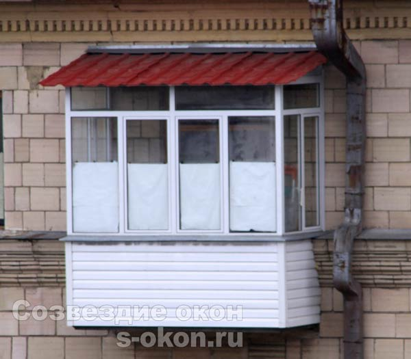 Балкон в сталинском доме застеклить