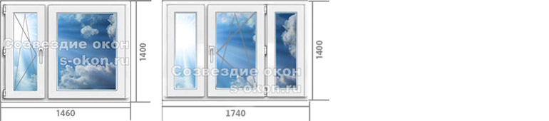 Цена на окна в квартиру