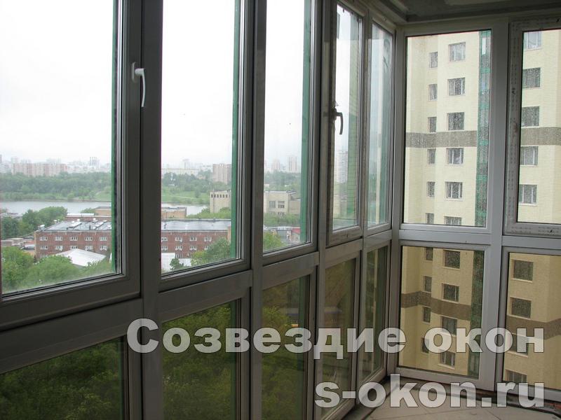 Панорамные остекления балконов
