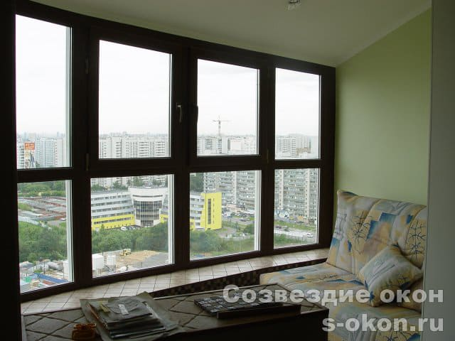 Панорамное остекления квартиры
