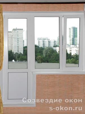Пластиковое окно в панельном доме