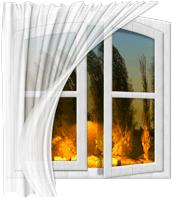 Дует из окна
