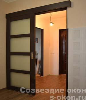 Межкомнатная раздвижная дверь