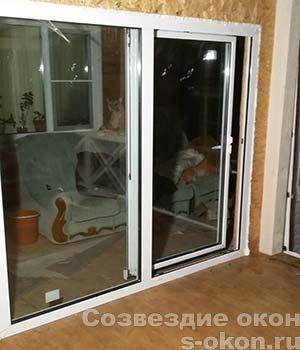 Раздвижные двери-портал