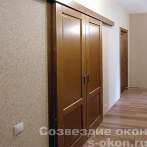 Раздвижные двери для гостиной и кухни