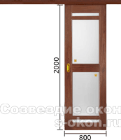 Размеры раздвижных межкомнатных дверей