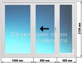 Сдвижные пластиковые окна