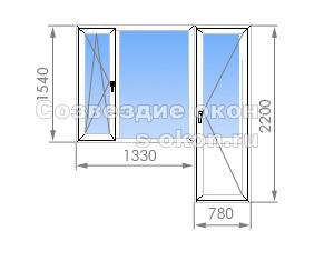 Балконный блок И-700А