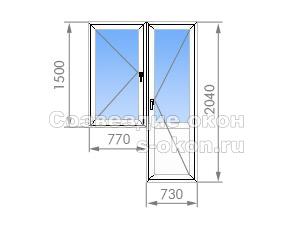 Балконный блок в II-68