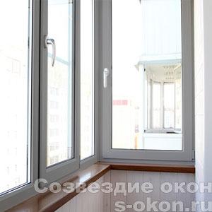 Пластиковые серые окна