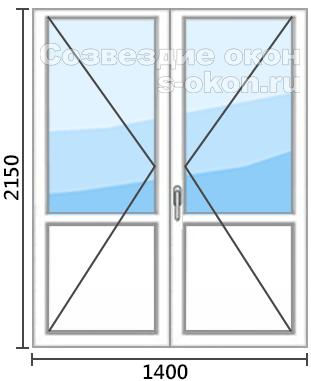 Цена двери со штульпом