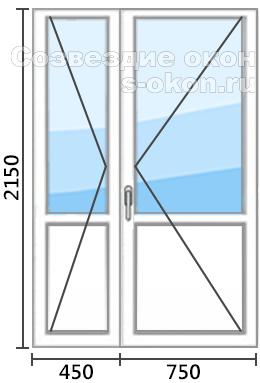 Цена на штульповую дверь