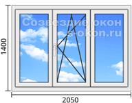 Купить стандартные пластиковые окна