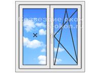 Окна для дачи стандартного размера