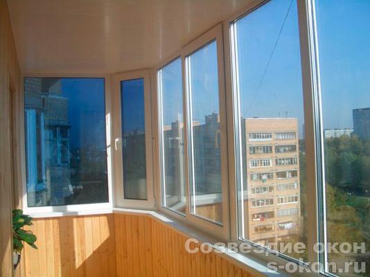 Теплое остекление балконов и лоджий