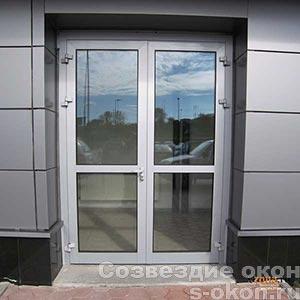 Теплые алюминиевые двери
