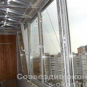 Фото застекления балкона